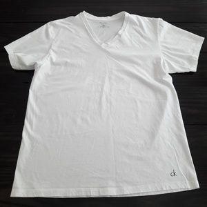 {Men's} Calvin Klein - white tee